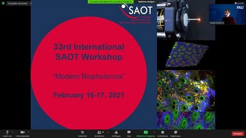 "Zum Artikel ""SAOT Workshop – Modern Biophotonics"""
